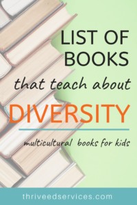 list of books that teach about diversity for kids - anti racism books for kids, multicultural books for kids, anti racism books for children, anti racism ideas, anti racism activities for kids, multicultural classroom, multicultural activities